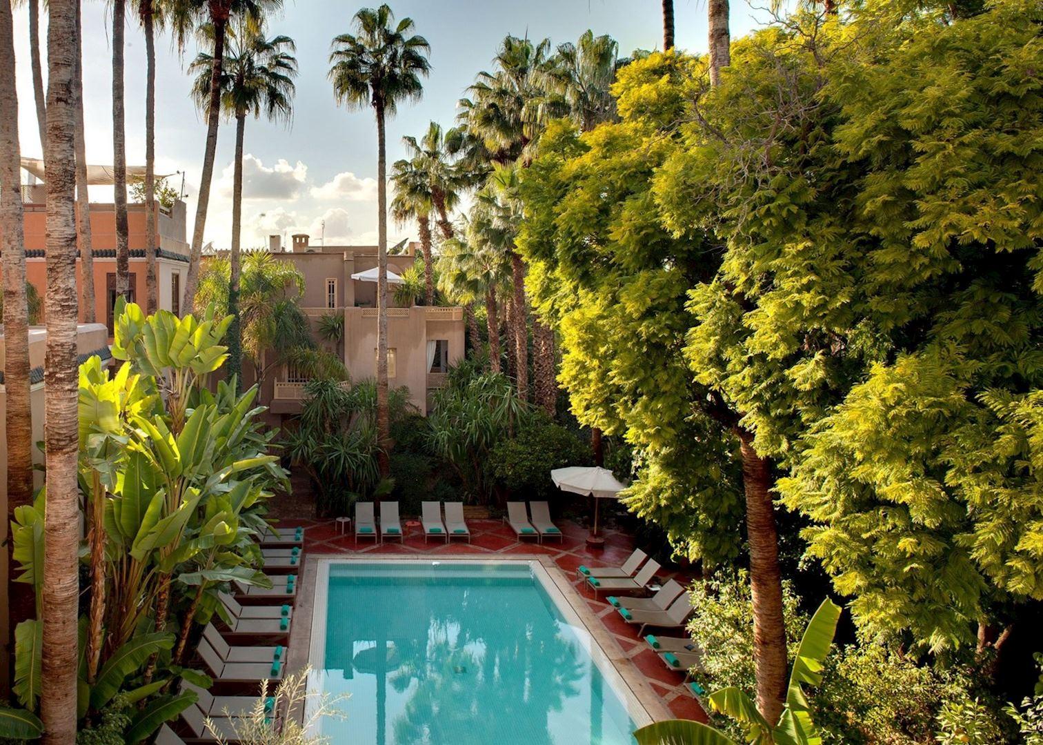les jardins de la medina marrakesh hotels audley travel. Black Bedroom Furniture Sets. Home Design Ideas