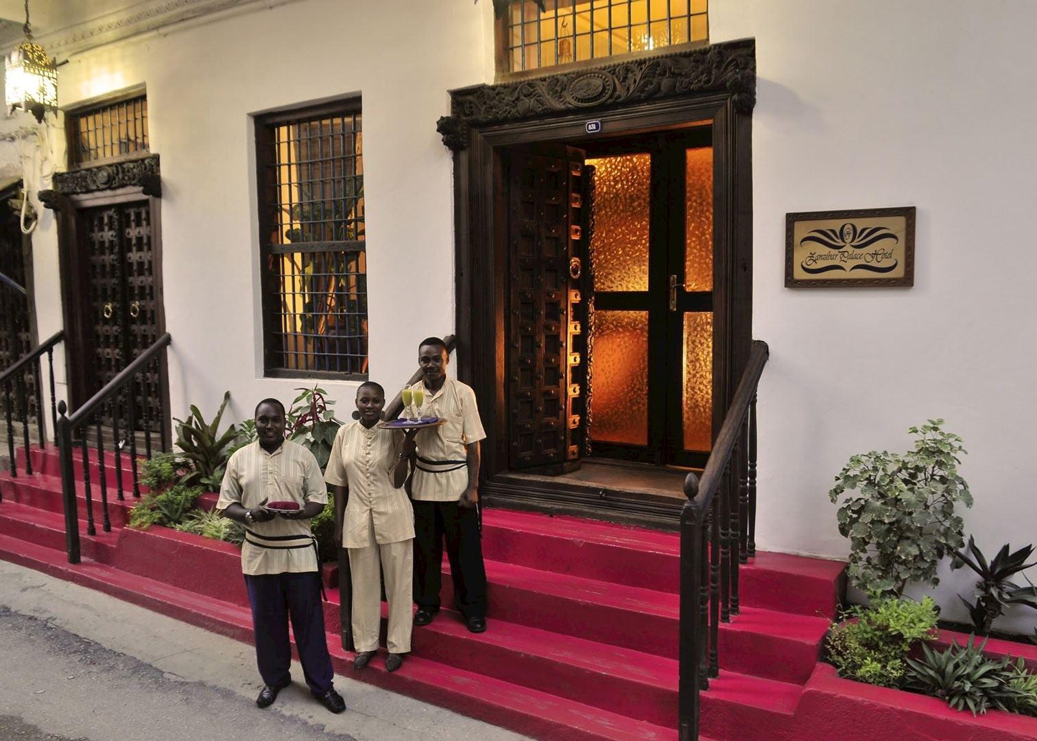 Zanzibar palace hotel stone town hotels audley travel for Boutique hotel zanzibar stone town