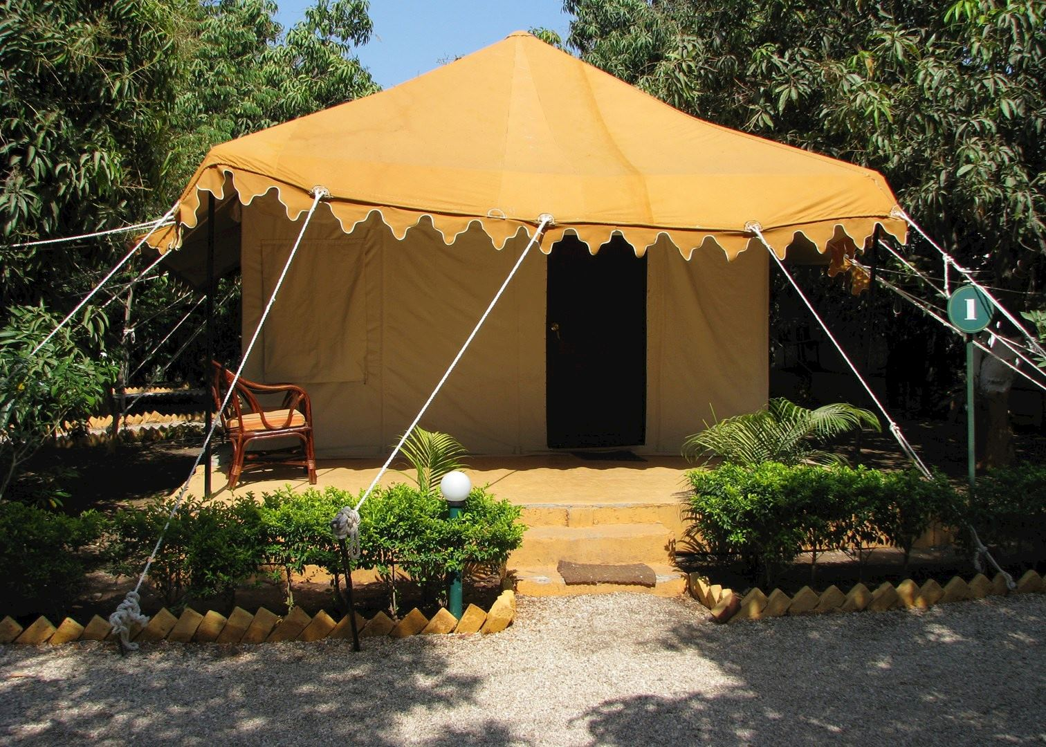 Air conditioned tents at the Lion Safari C& & Lion Safari Camp | Audley Travel
