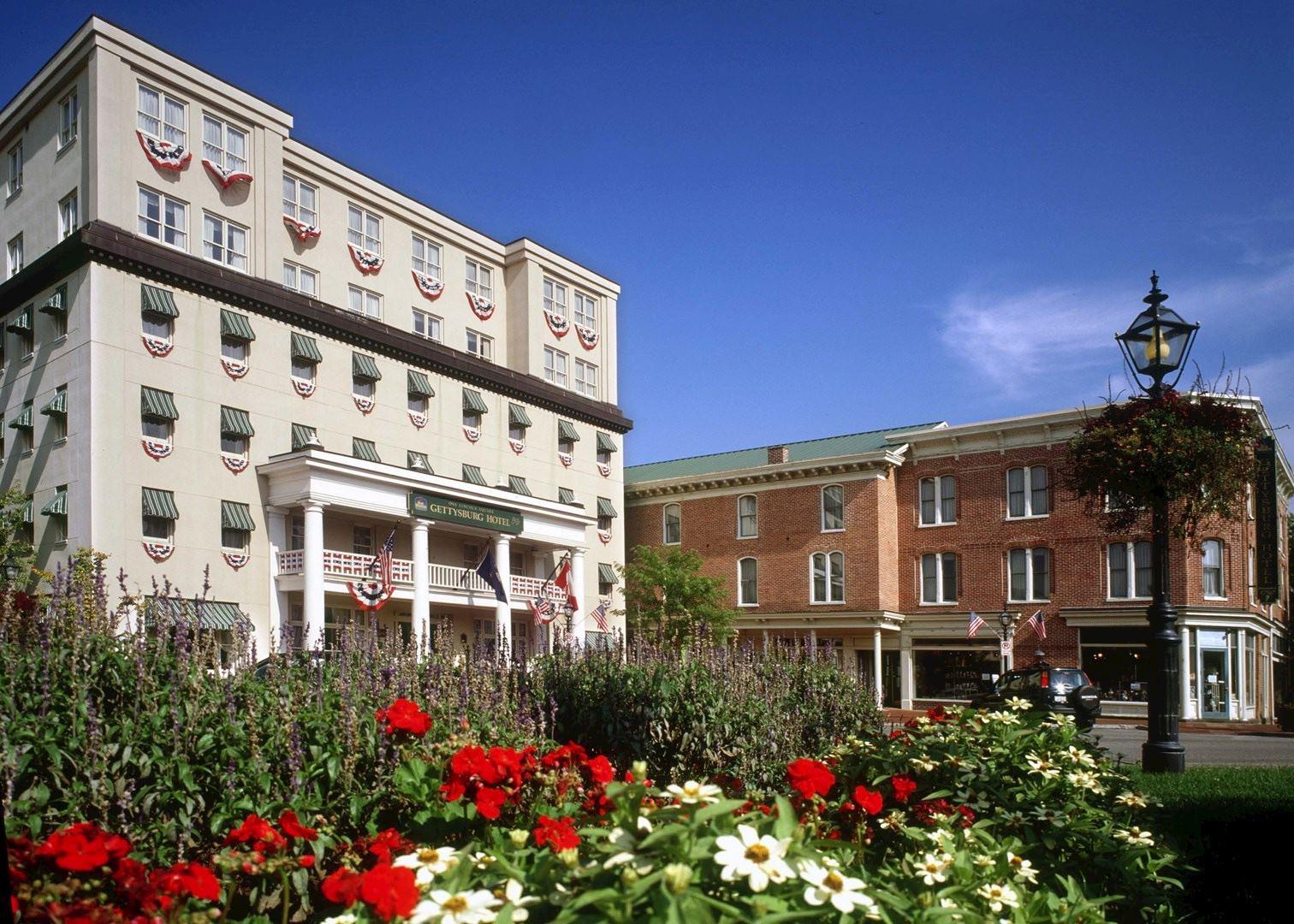 gettysburg hotel hotels in gettysburg audley travel. Black Bedroom Furniture Sets. Home Design Ideas