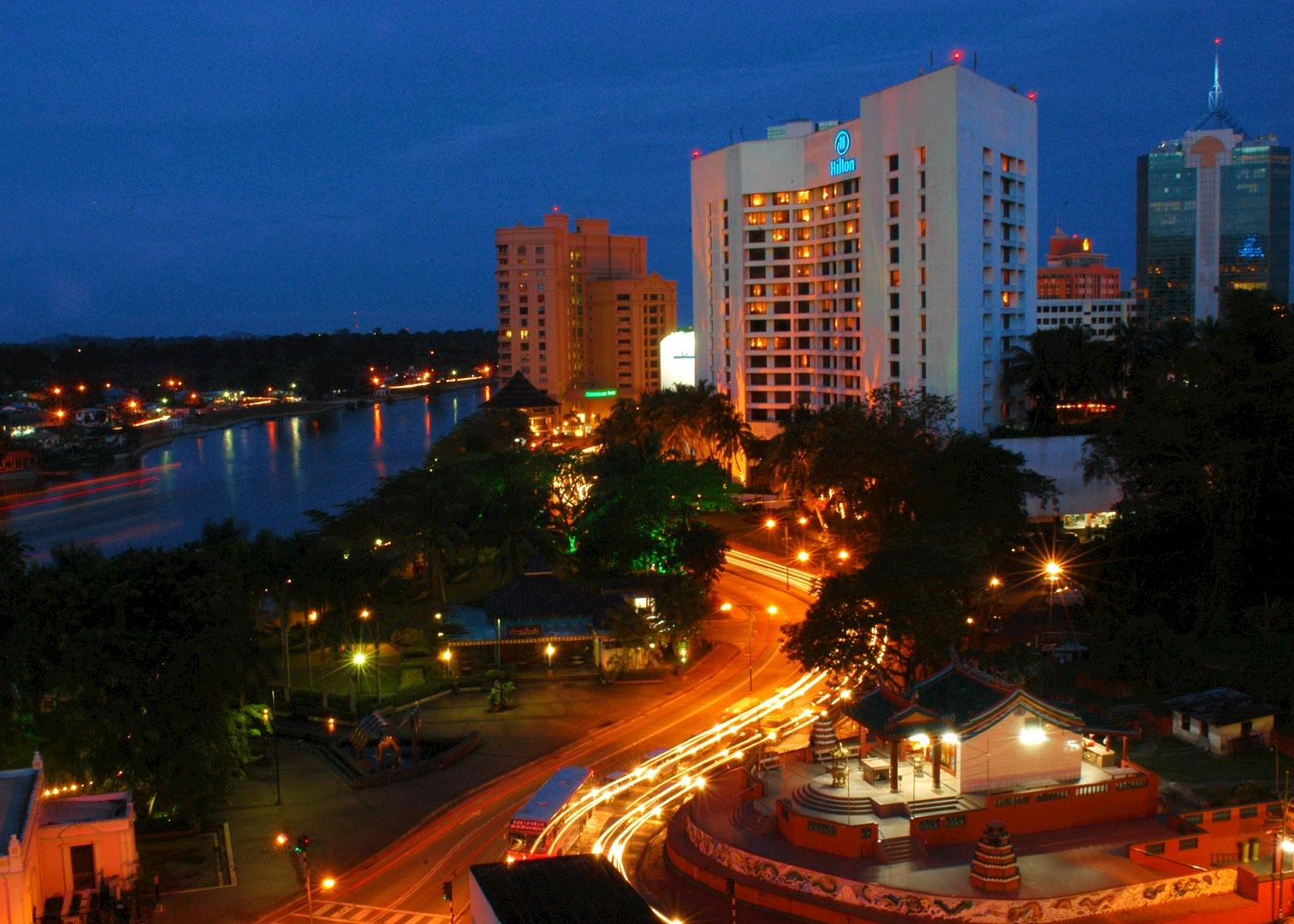 Hilton Hotel Hotels In Kuching Audley Travel