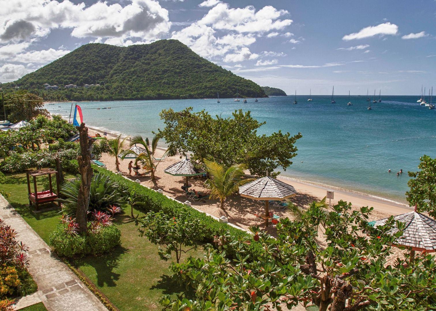 Beach, Bay Gardens Beach Resort, Saint Lucia