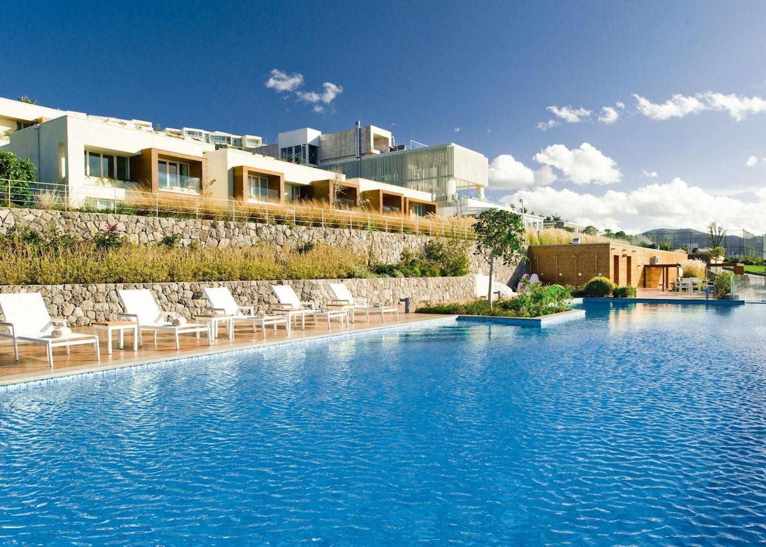 Outdoor pool palmalife bodrum resort spa bodrum