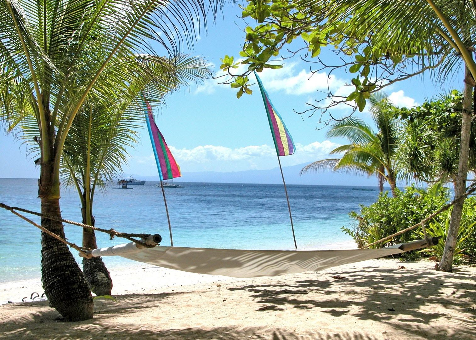 Beachside Hammock Coco Grove Beach Resort Siquijor