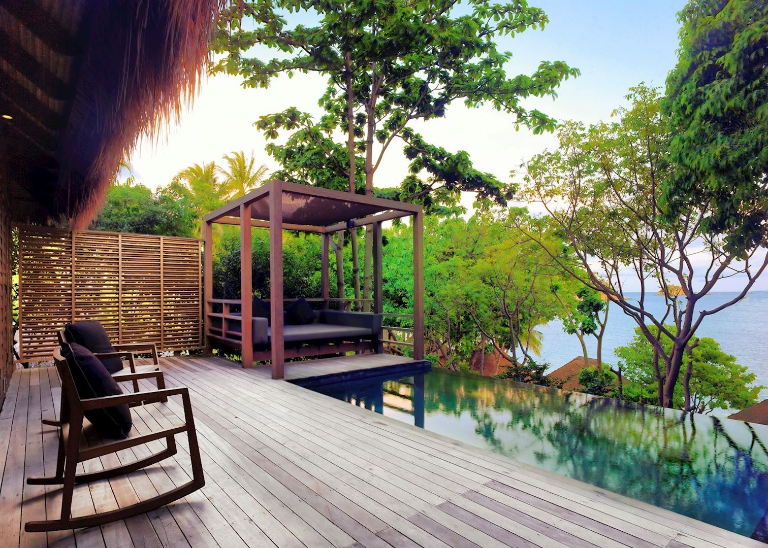 Haad tien beach resort and koh samui audley travel for Koh tao cabana koi pool villa