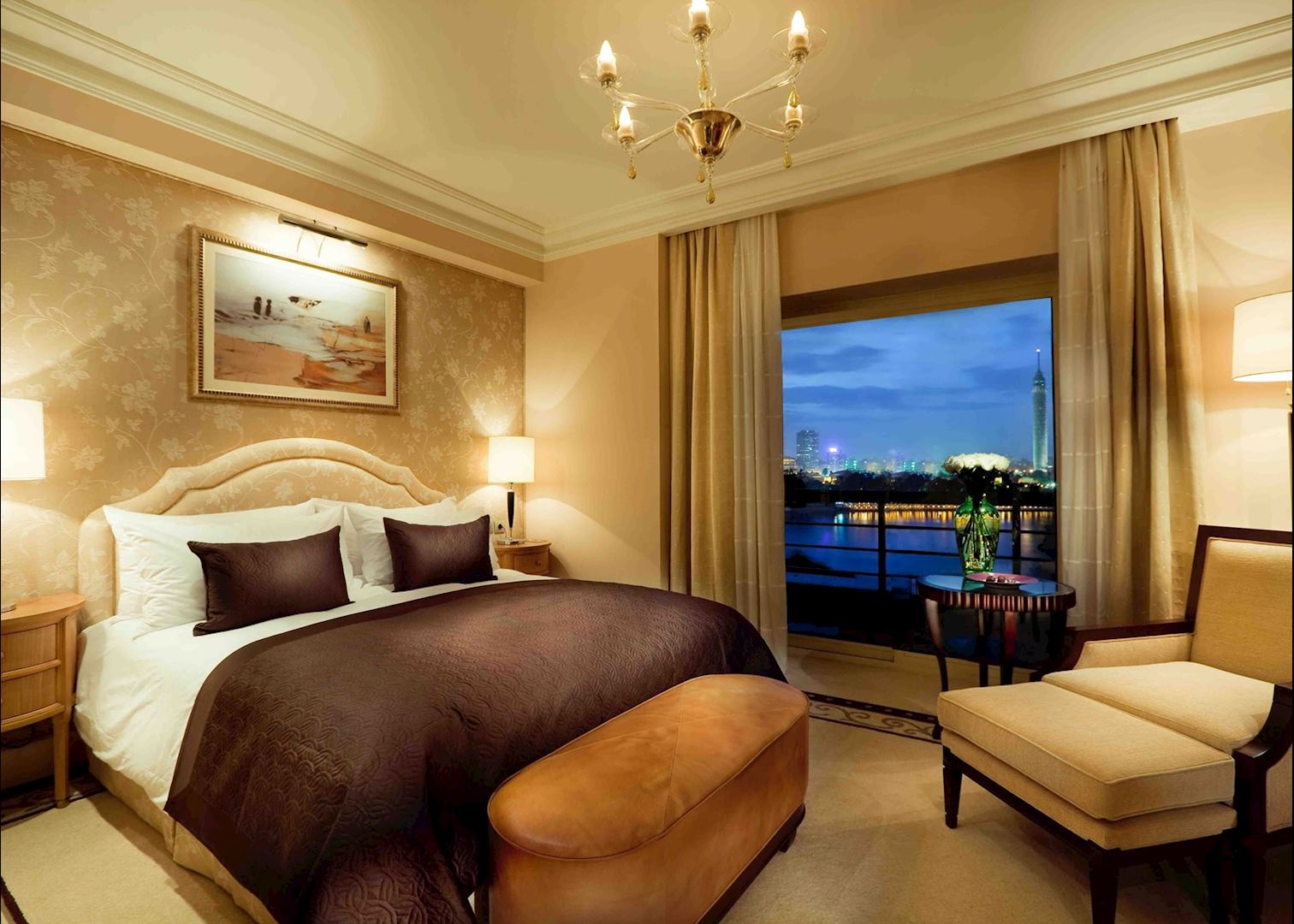 kempinski nile hotel hotels in cairo audley travel. Black Bedroom Furniture Sets. Home Design Ideas