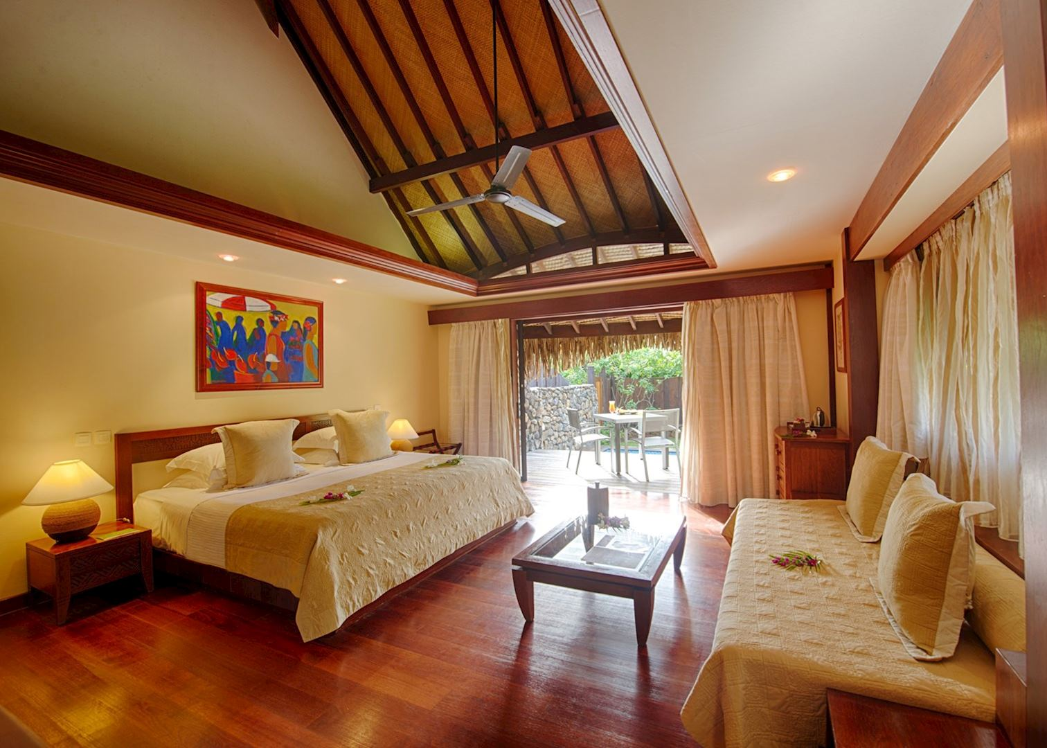 pearl beach resort bora bora and moorea audley travel. Black Bedroom Furniture Sets. Home Design Ideas