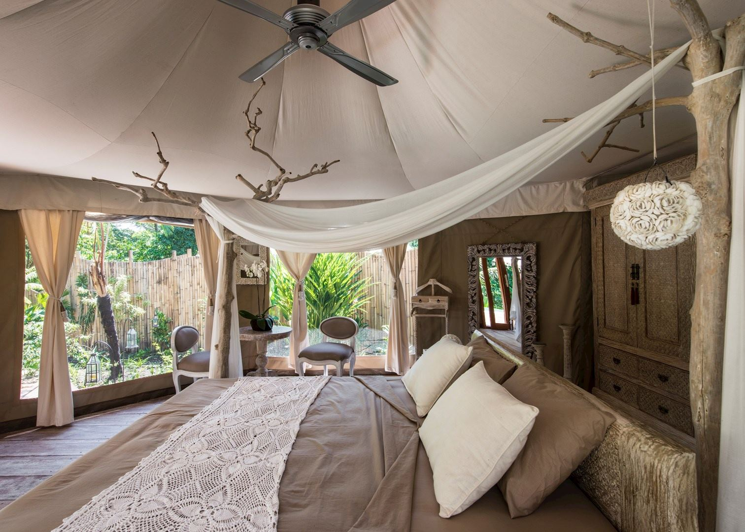 Sandat Glamping Tents Hotels In Ubud Audley Travel