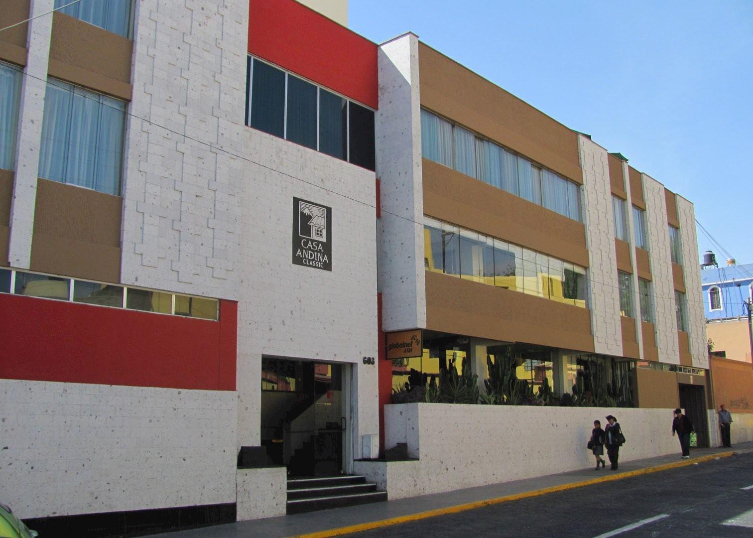 Casa andina classic arequipa arequipa audley travel for Casa andina classic arequipa