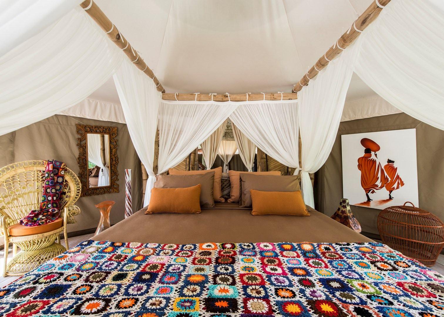 Tent Bedroom, Sandat Glamping Tents,Ubud