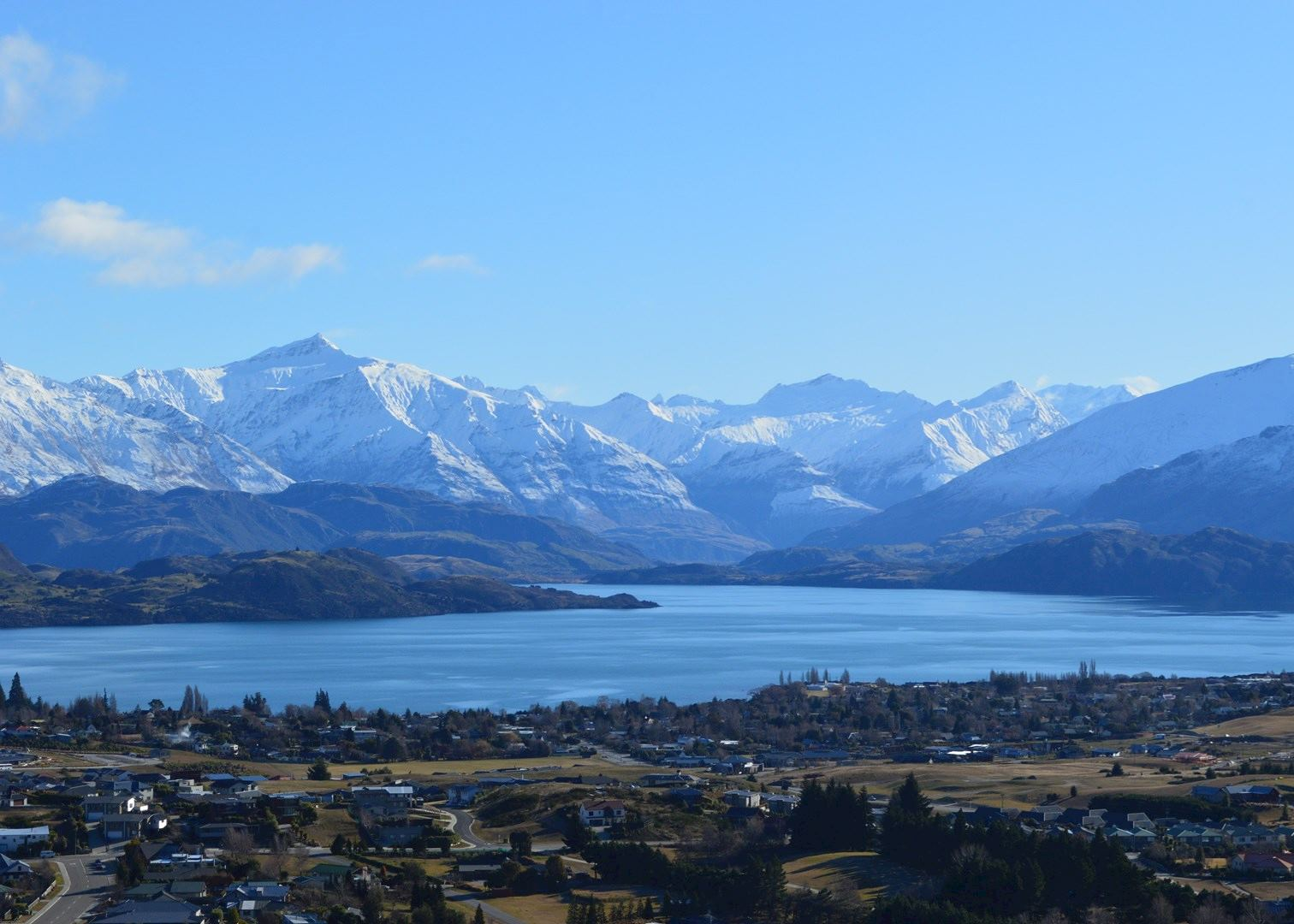 Visit Lake Wanaka on a trip to New Zealand