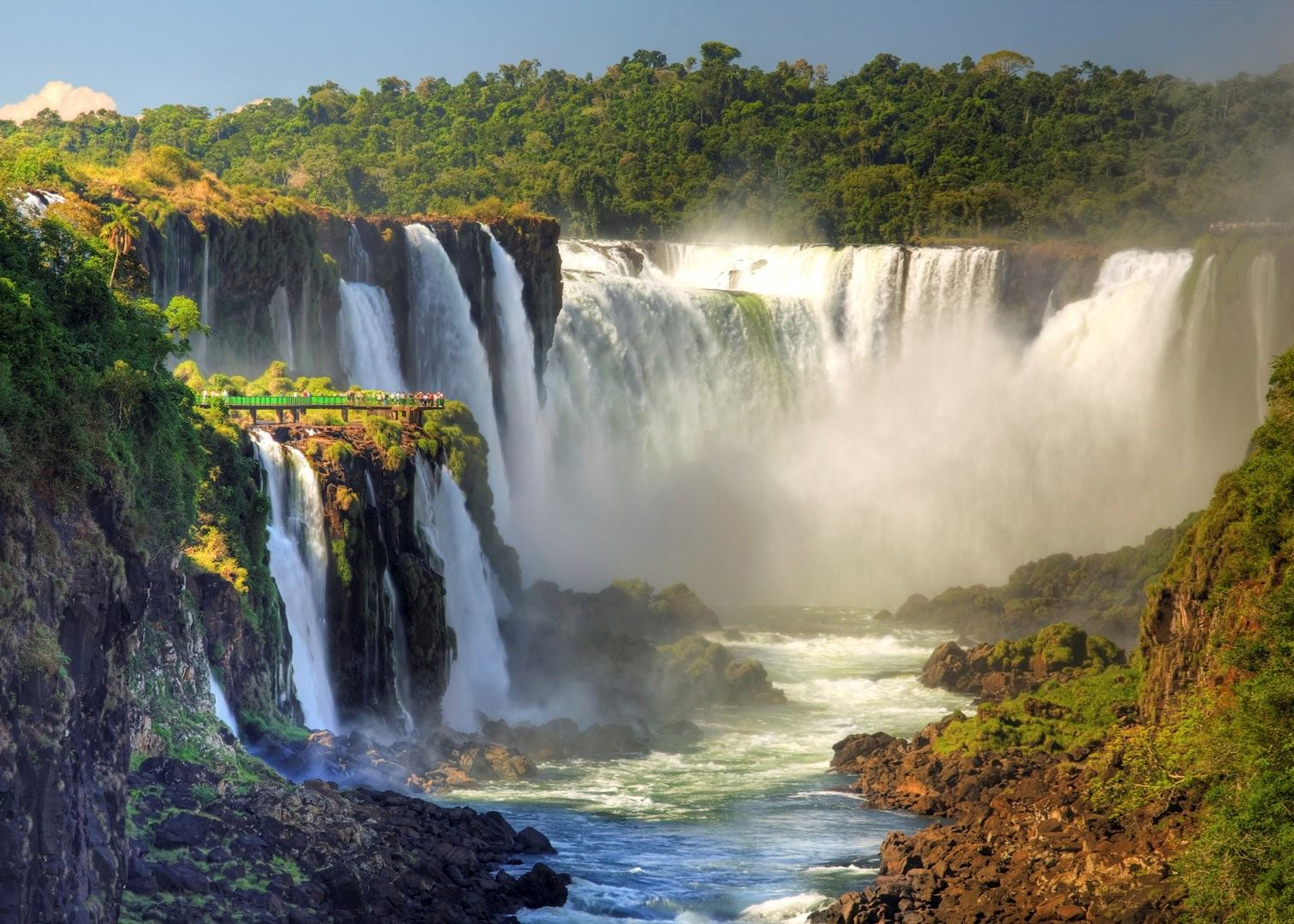 iguazu falls sunset - photo #36