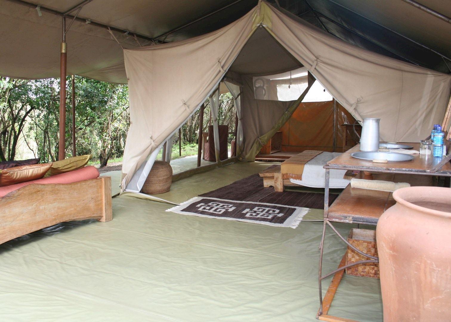 Luxury Tent, Naibor Camp, Masai Mara