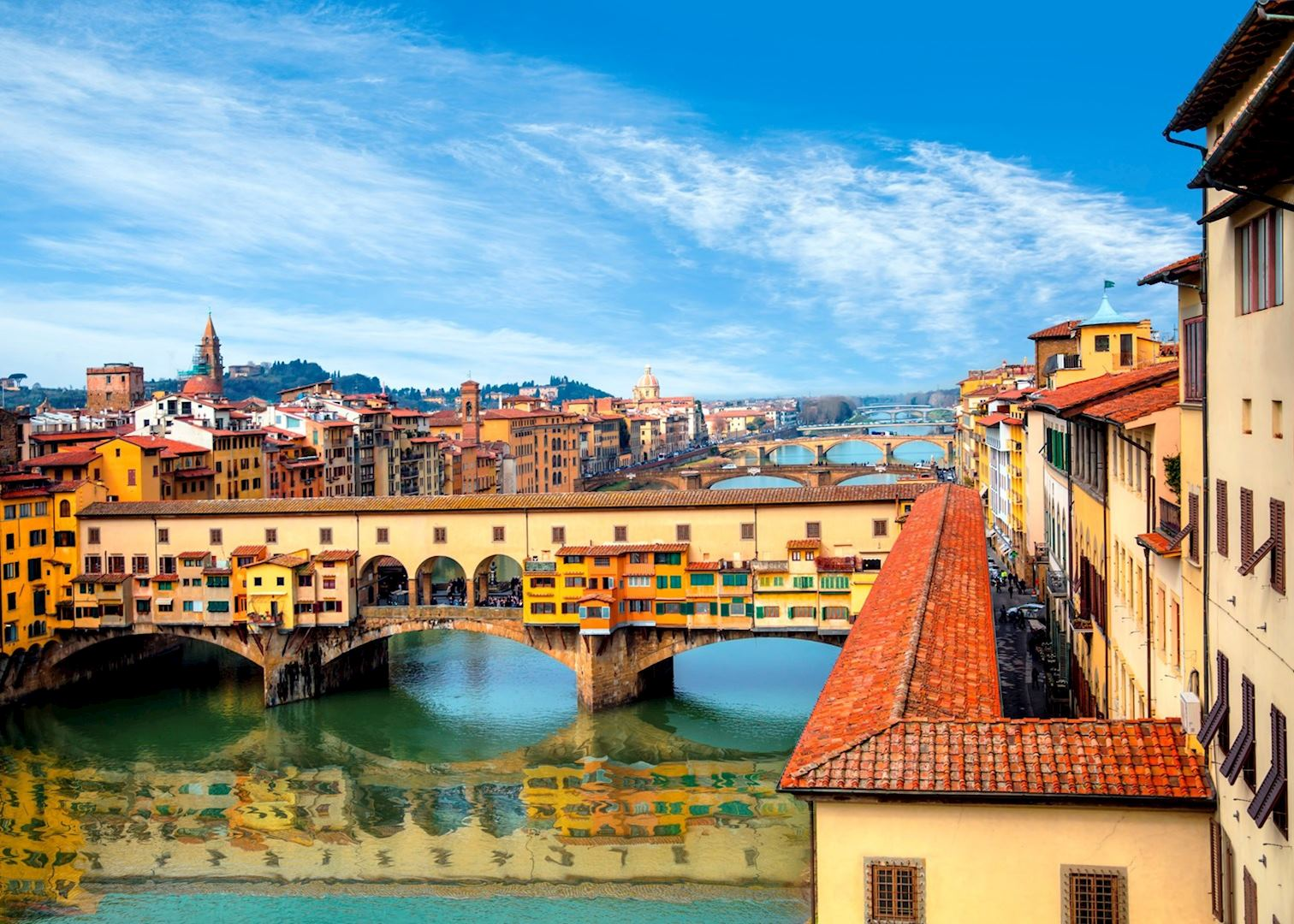 Italian Florence: Accademia And Uffizi Galleries Walking Tour