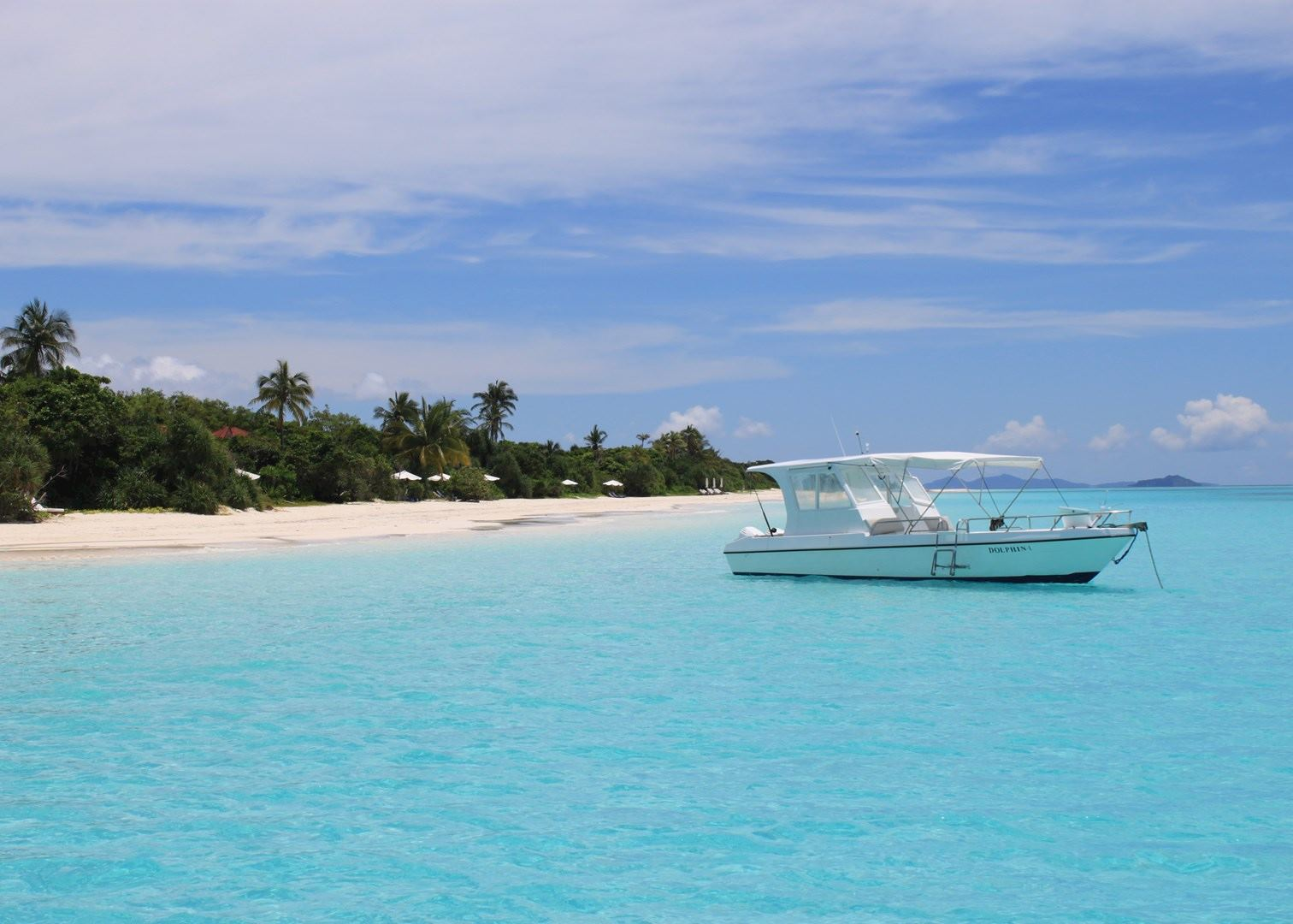 Private Beach, Amanpulo, Palawan, Philippines