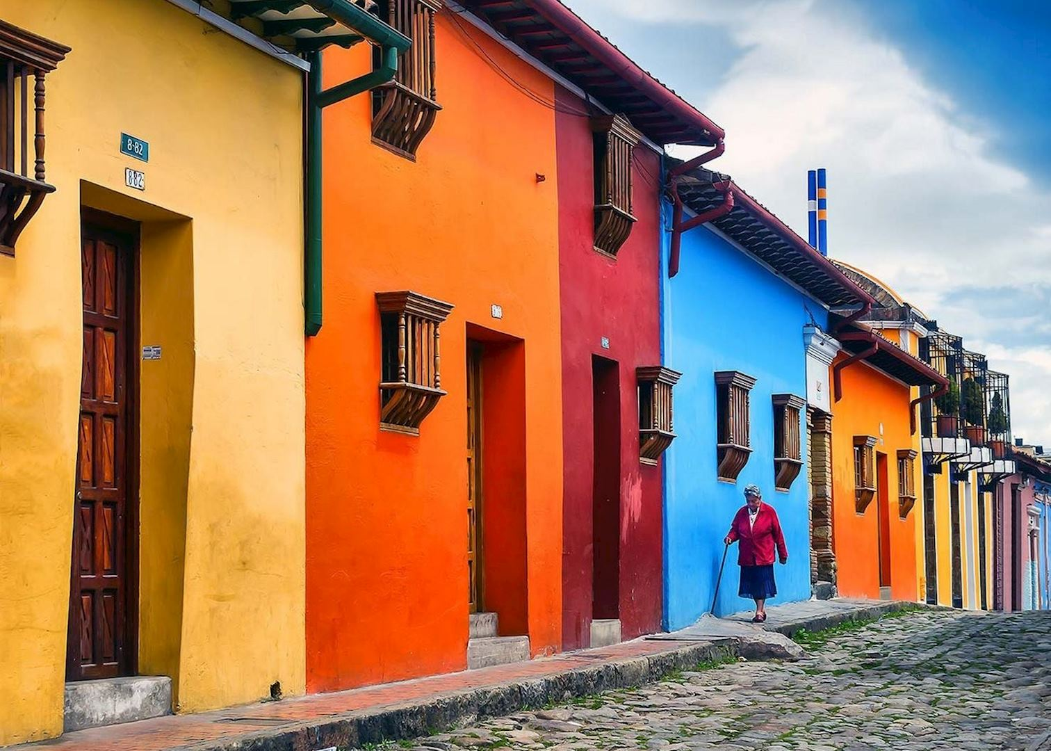 La candelaria walking tour colombia audley travel - Casas en pueblos ...