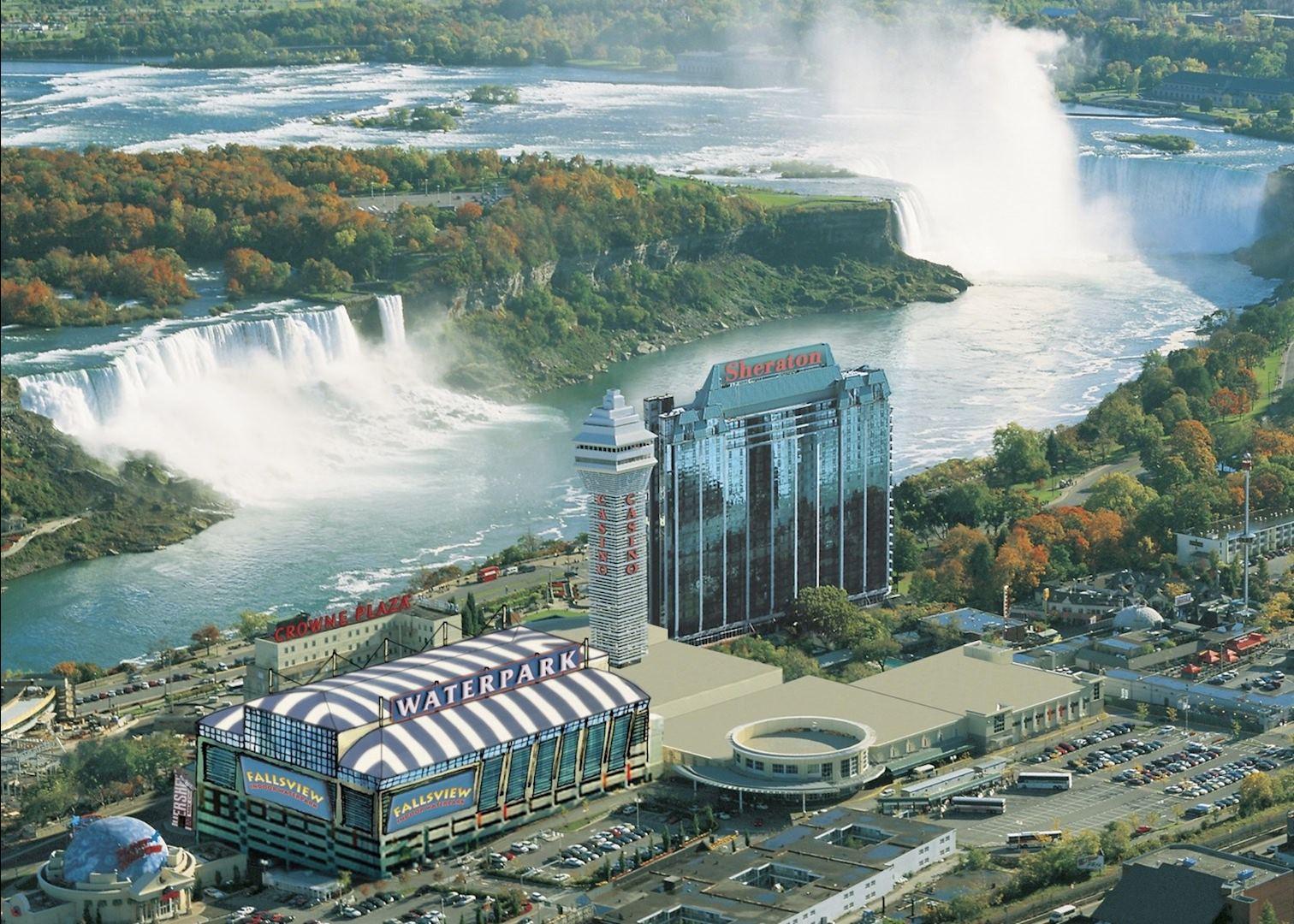 Hotel Rooms in Niagara Falls  Sheraton on the Falls Hotel