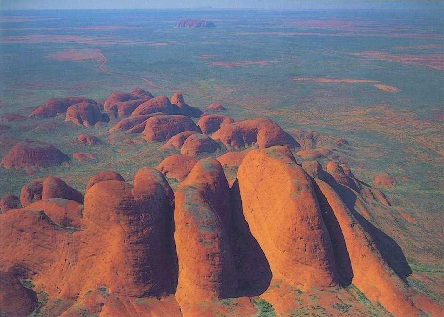 Uluru Also Known As Ayers Rock Huge Sandstone Kata Tjuta ... |Uluru Kata Tjuta National Park Australia
