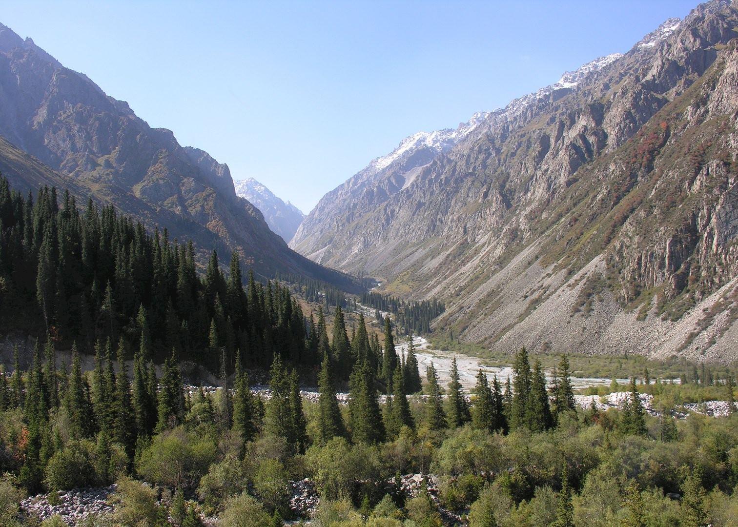 ala archa national park kyrgyzstan audley travel