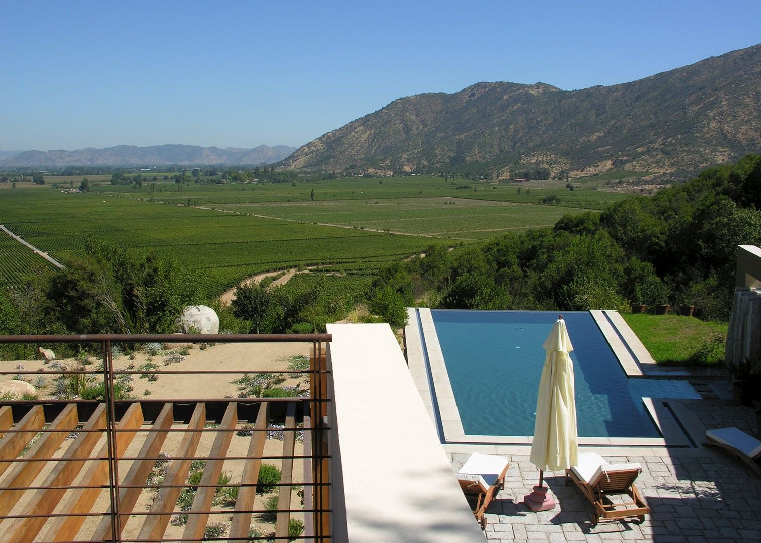 Casa lapostolle colchagua valley hotels audley travel for Casa lapostolle