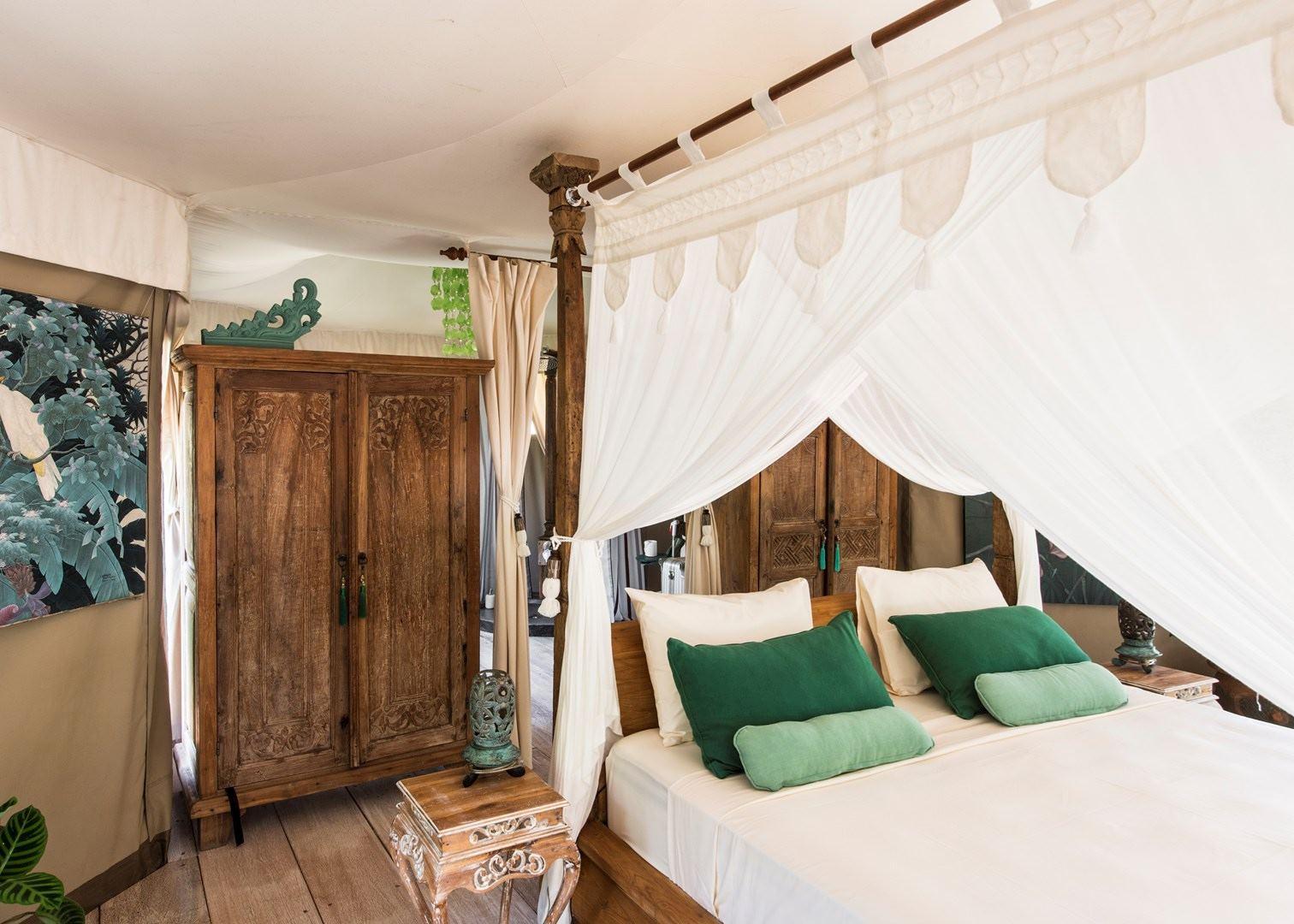 Tent Bedroom Sandat Gl&ing TentsUbud & Sandat Glamping Tents | Hotels in Ubud | Audley Travel