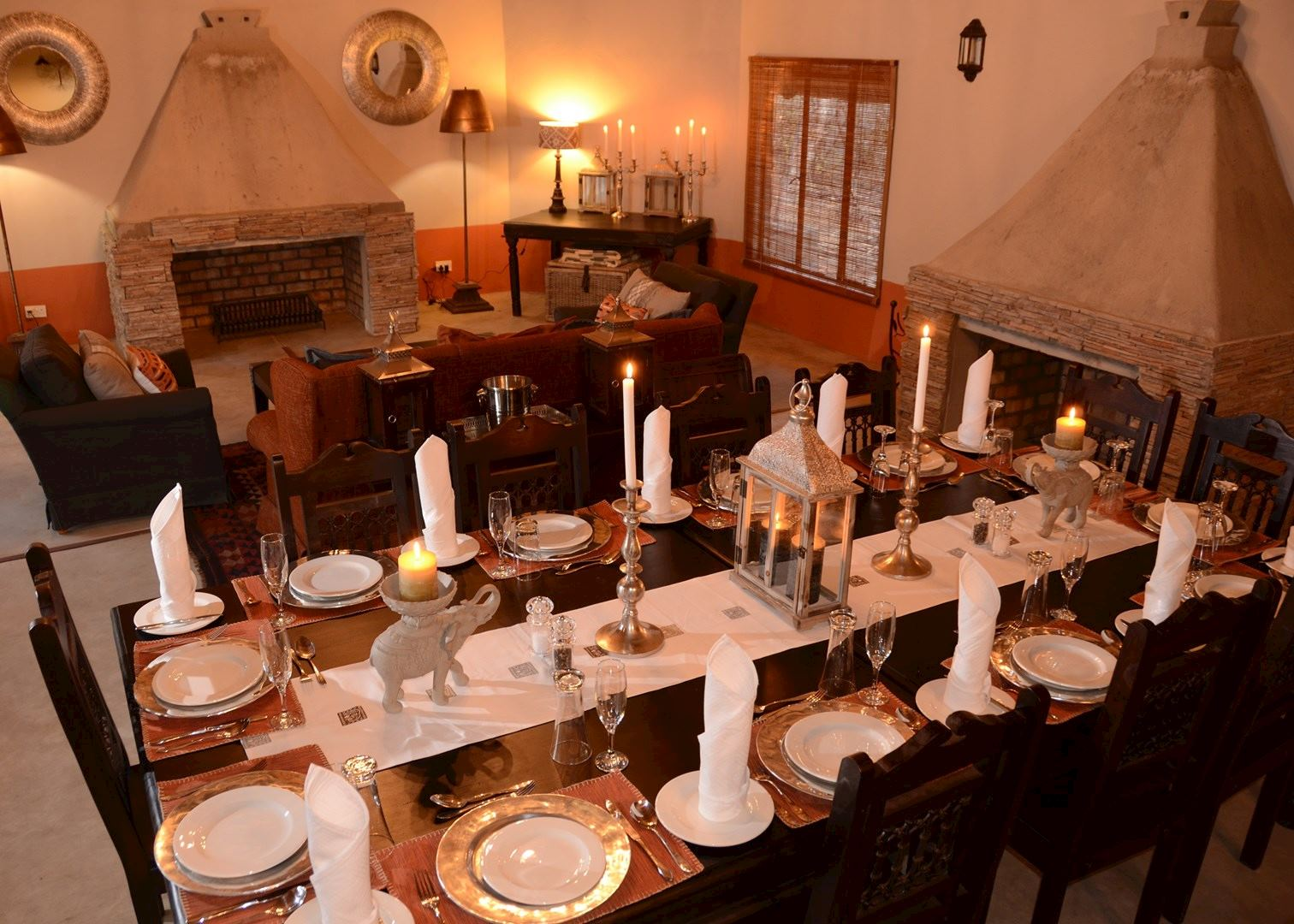 Camelthorn lodge hwange national park audley travel for Dining room suites zimbabwe