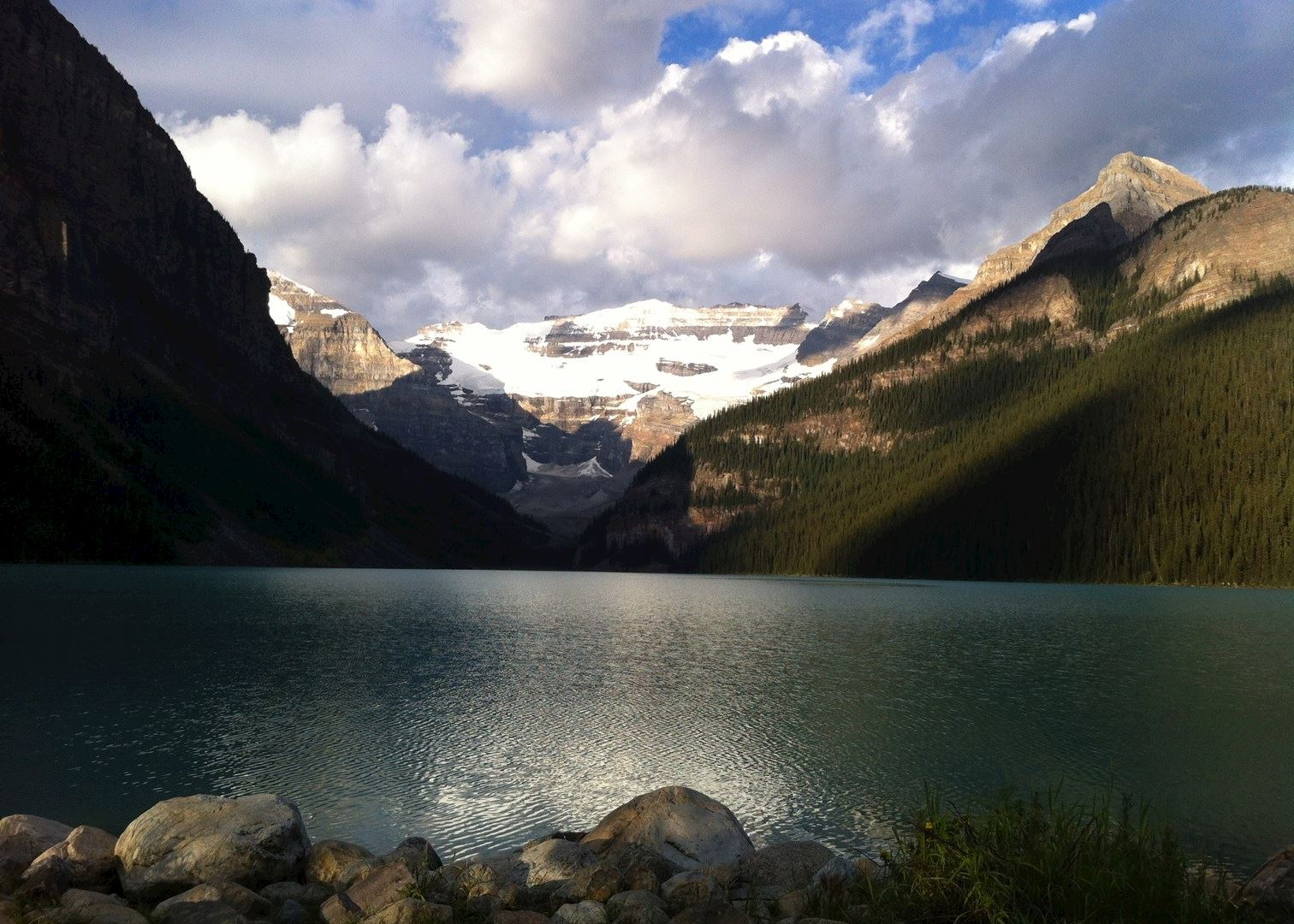 visit lake louise on a trip to canada