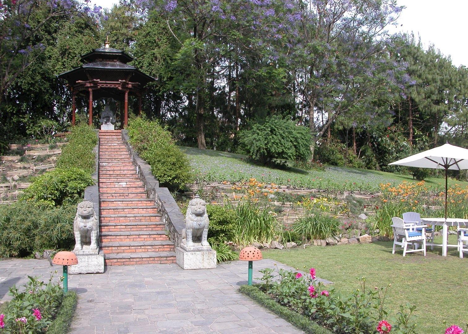 Gardens, Yak And Yeti Hotel, Kathmandu