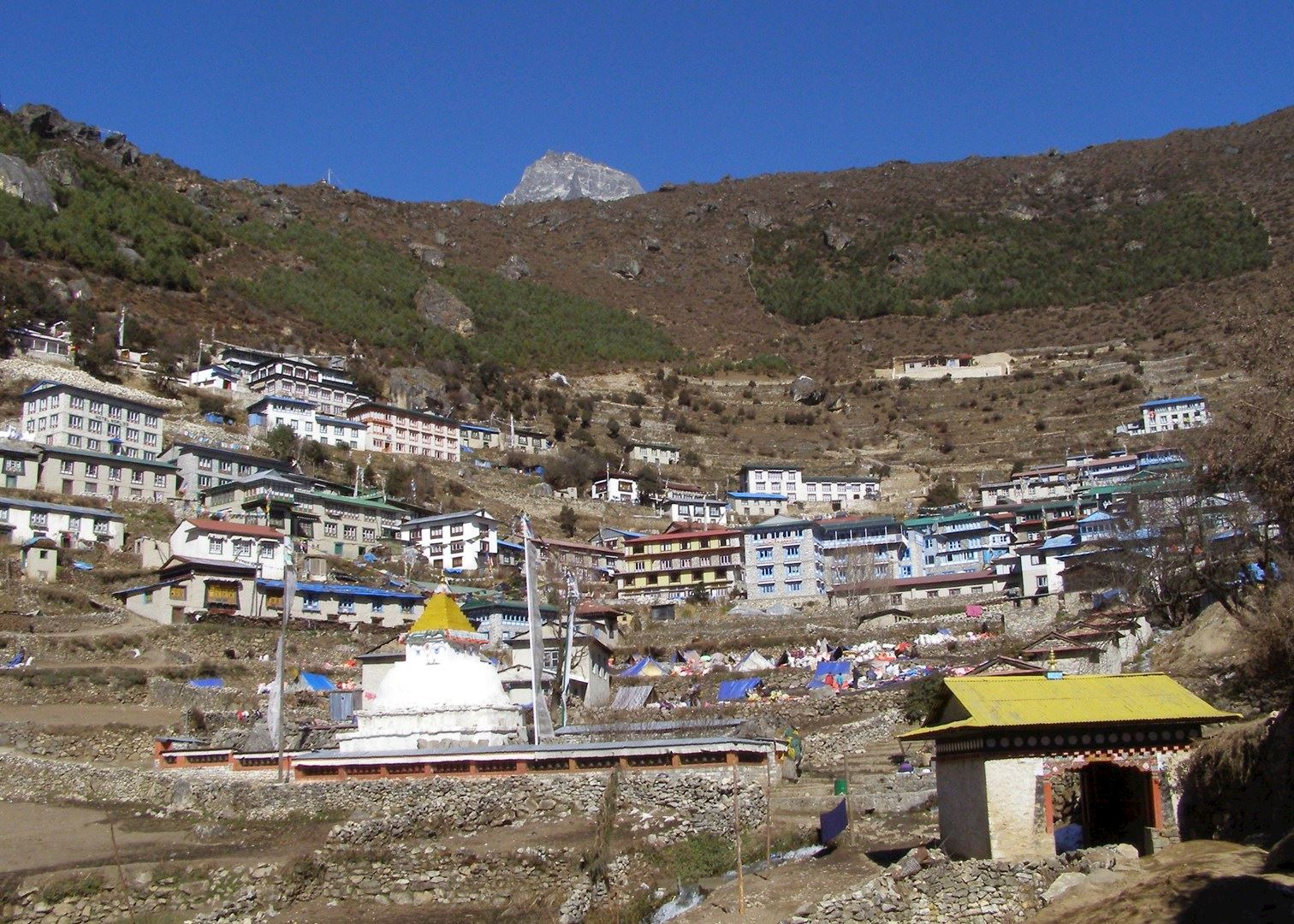 Visit Namche Bazaar on a trip to Nepal | Audley Travel