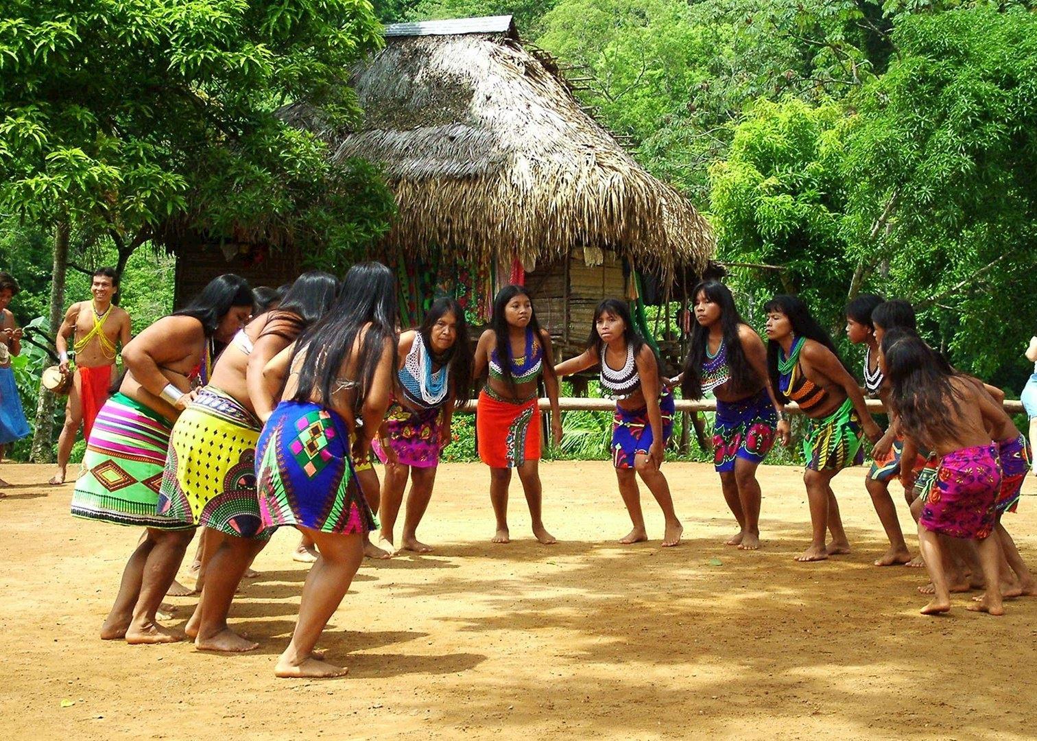 embera indian village panama audley travel