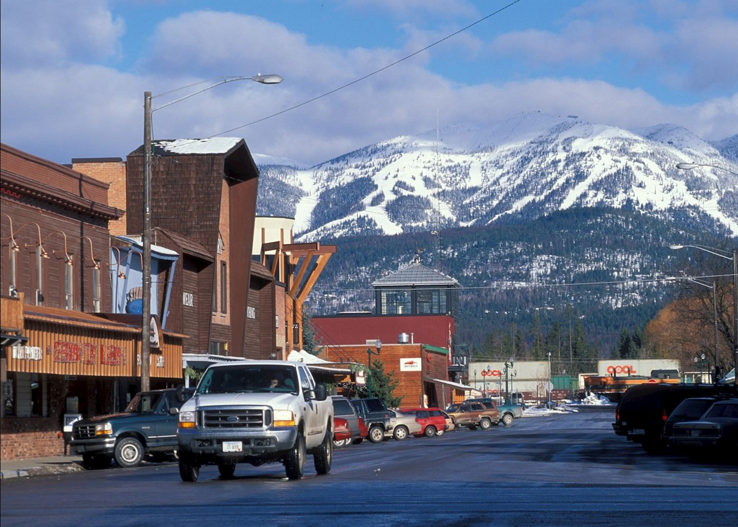 Whitefish hotels downtown - Park n fly economy