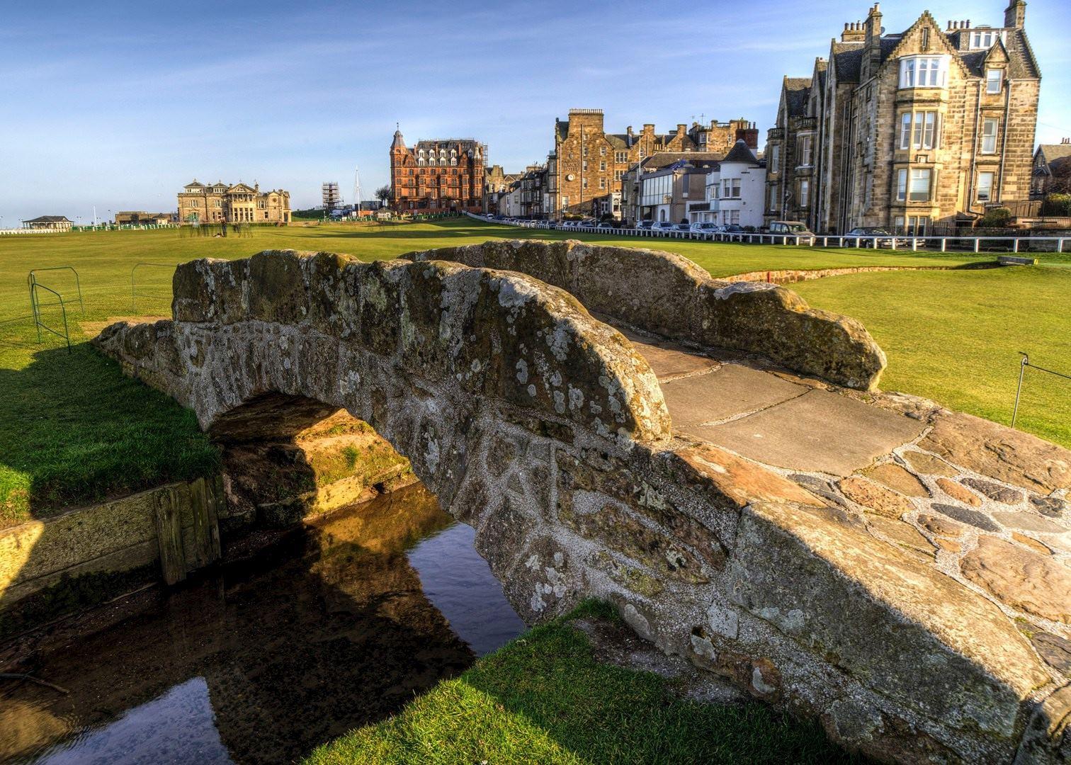 St Andrews Golf Course Tour