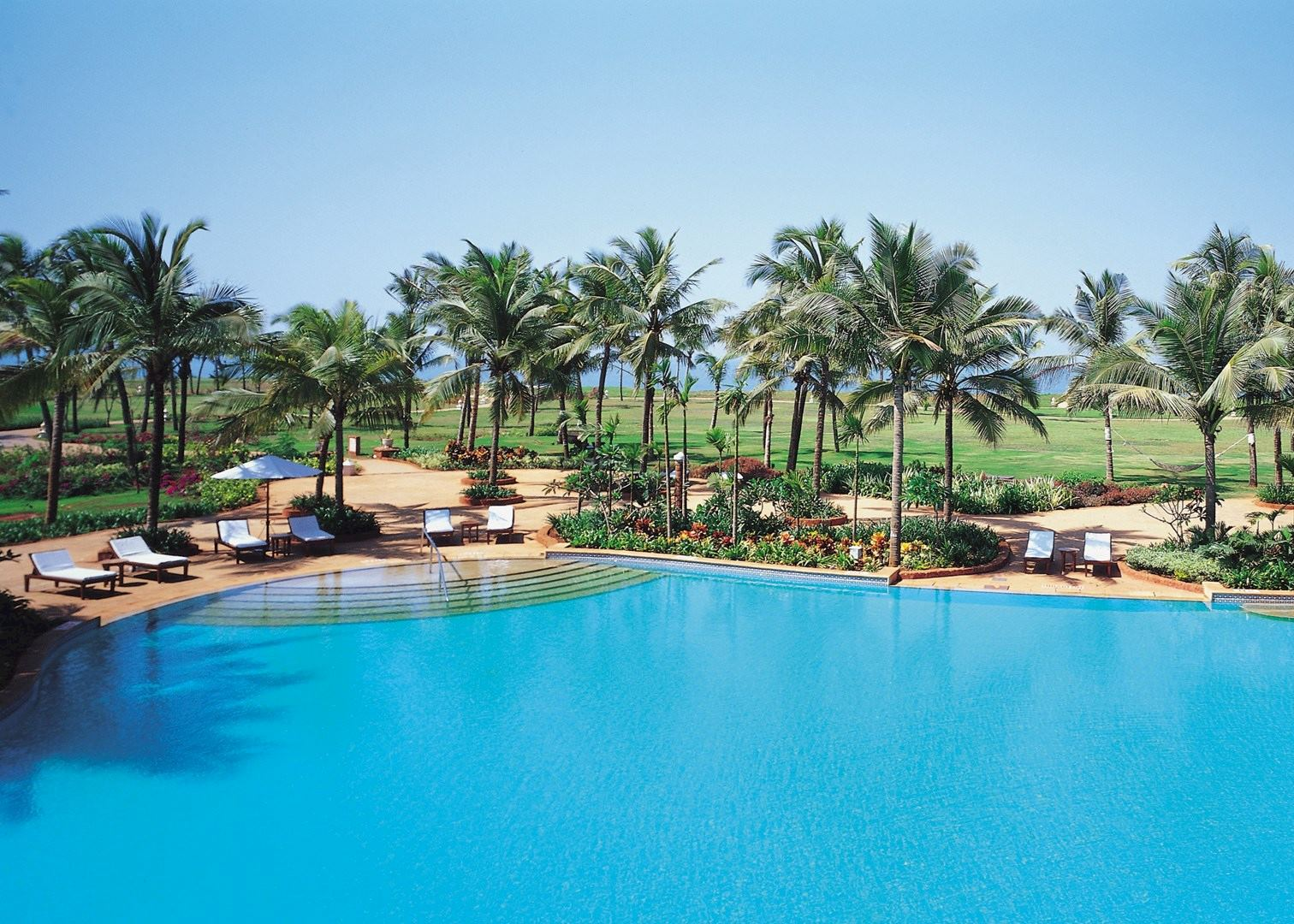 Taj exotica hotels in goa audley travel for Resorts in goa with private swimming pool