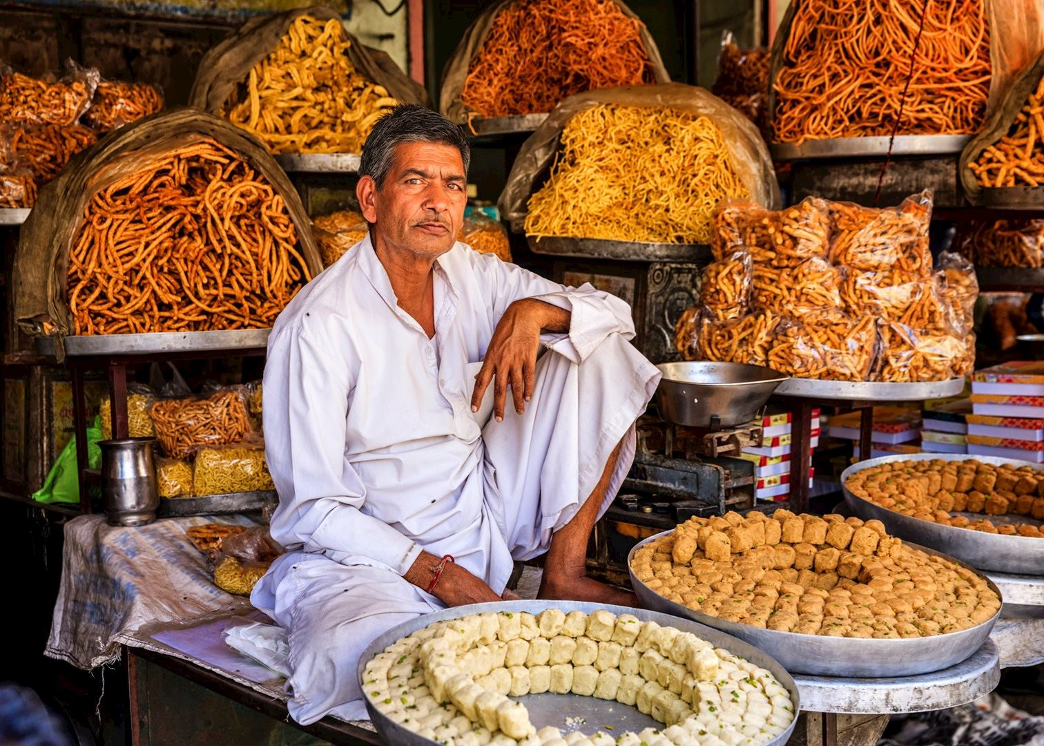 Street Food In Rishikesh