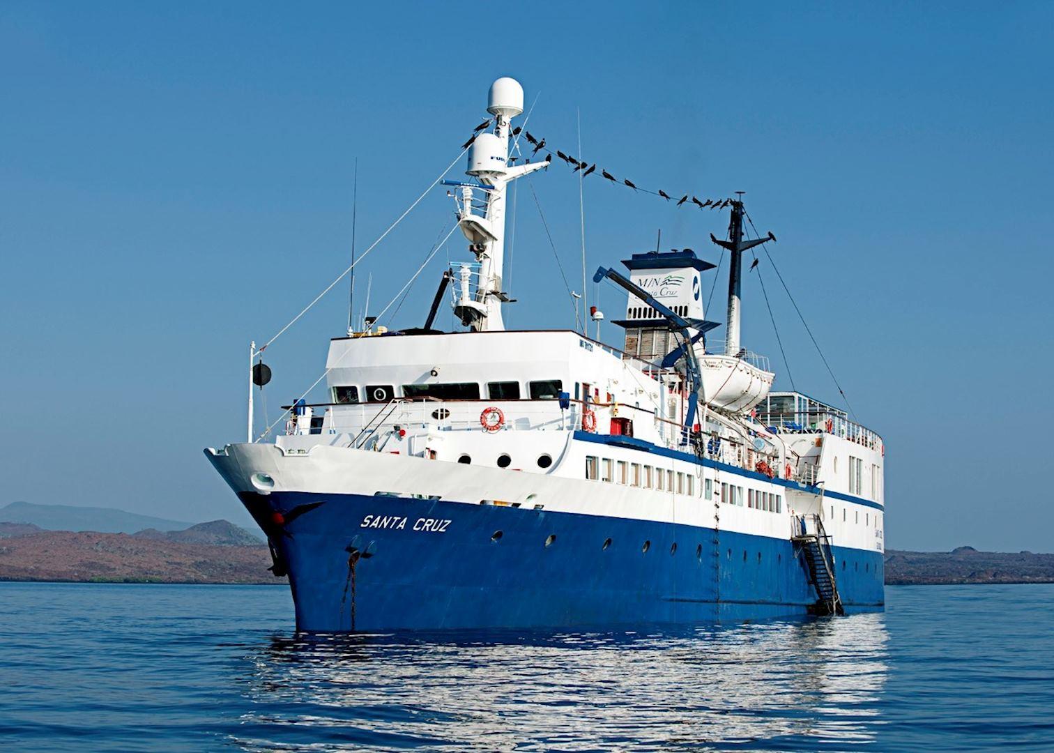Mv Santa Cruz Galapagos Cruises Audley Travel