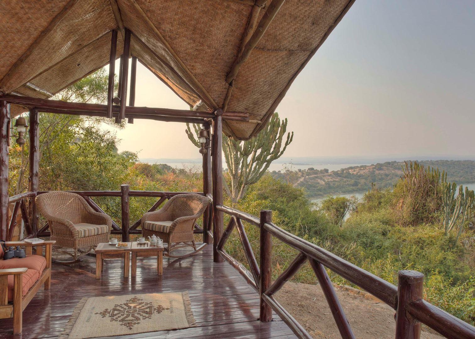 Mweya Safari Lodge, Best Uganda Lodge   Flash Mctours and