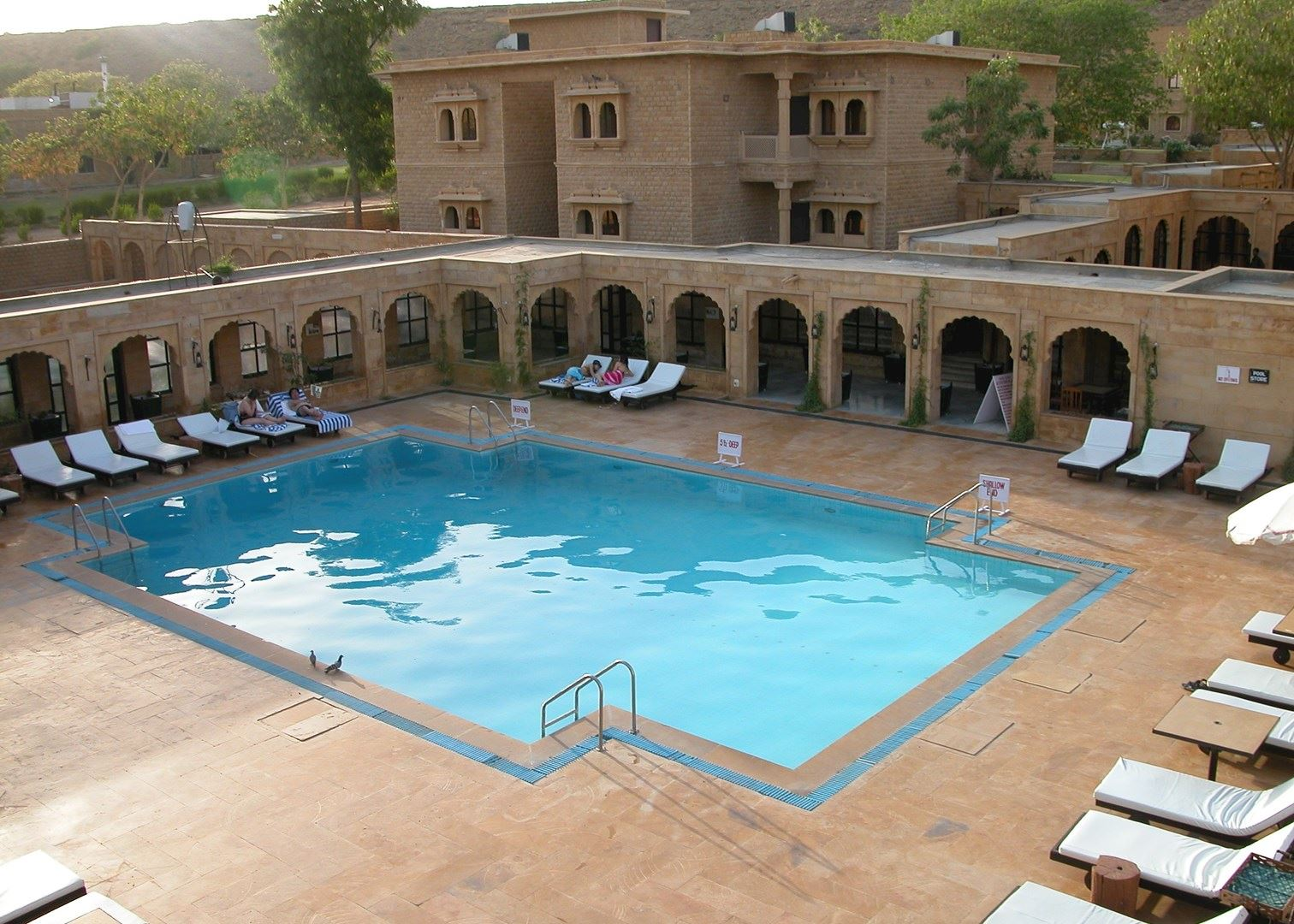 Rawal kot hotels in jaisalmer audley travel - Jaisalmer hotels with swimming pool ...