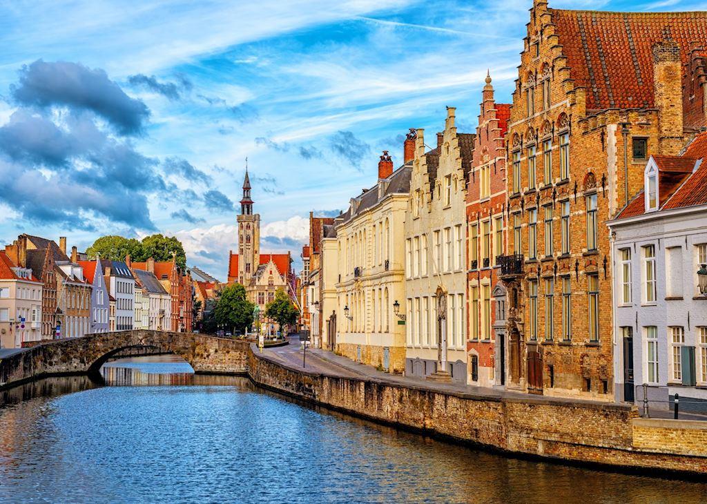 Canals of Bruge, Belgium