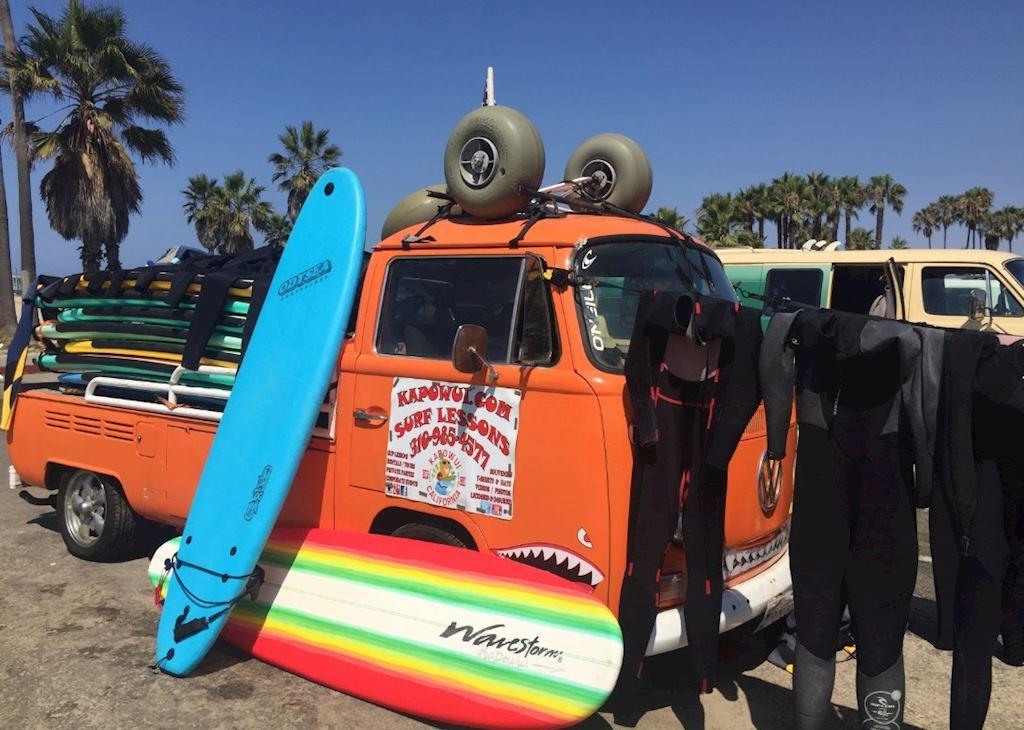 Kapawui Surfing Excursion L.A. Venice Beach