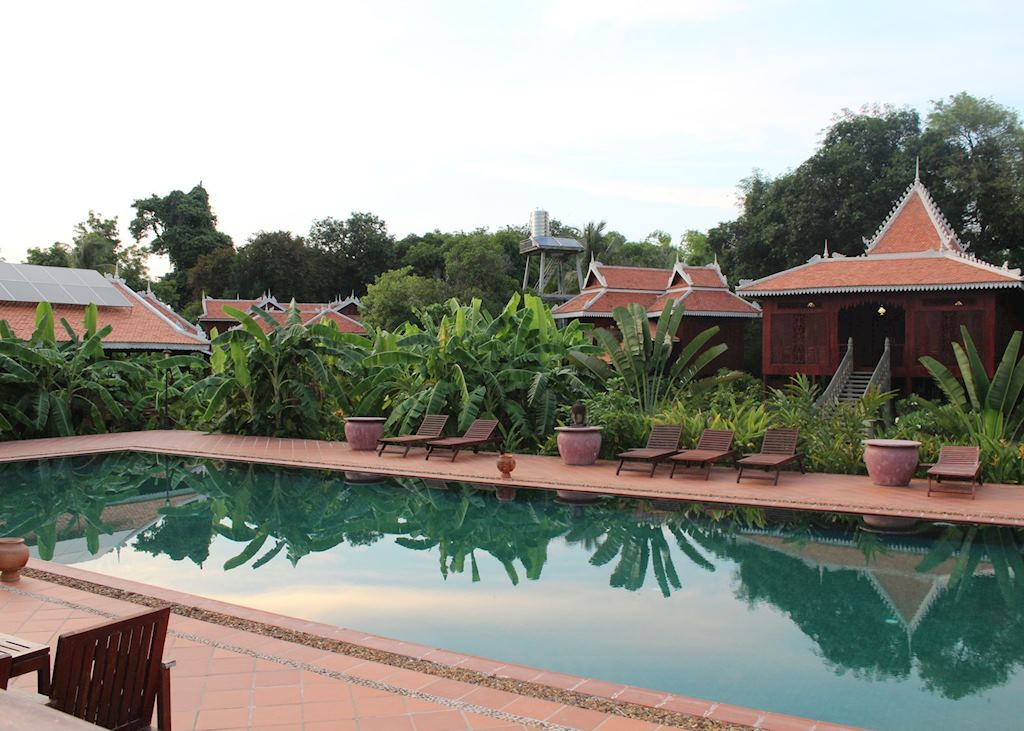 Pool at Rajabori Villas