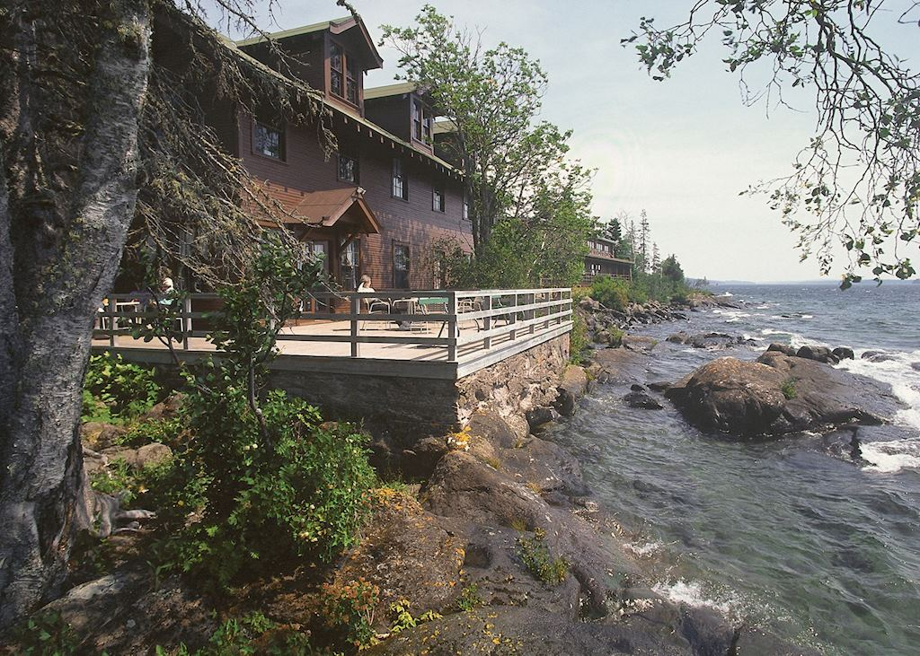 Rock Harbor Lodge & Marina, Isle Royale