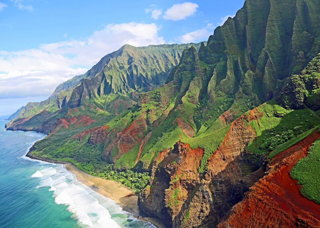 The Na Pali Cliffs, Kauai