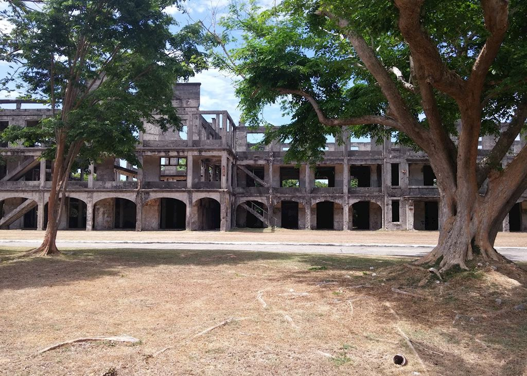 One mile barracks, Corregidor