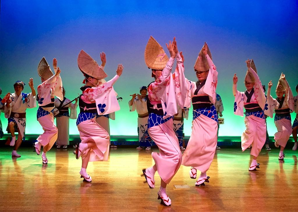 Awa Odori Dance Performance