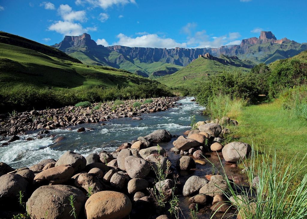 The Amphitheatre, Drakensberg Mountains, South Africa