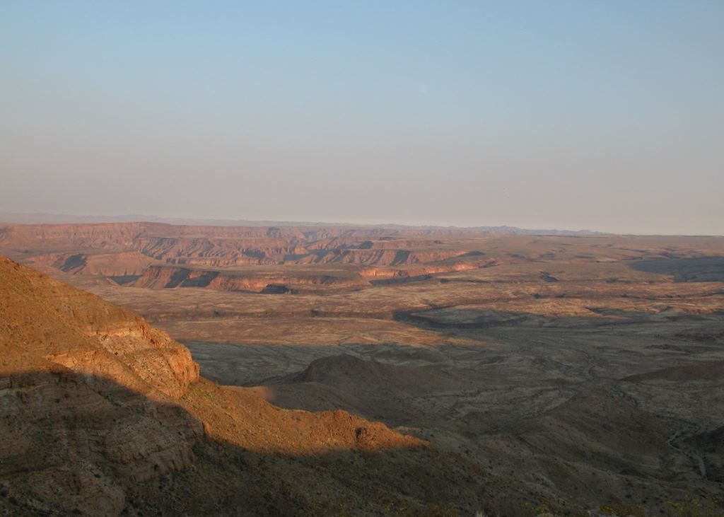 View from Grand View Lodge, Fish River Canyon