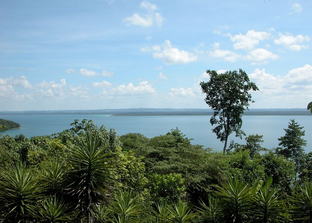Lago Peten, Guatemala