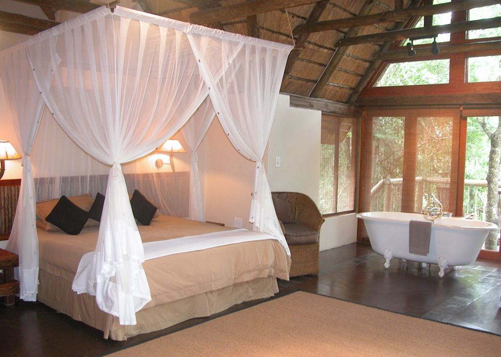 Honeymoon suite, Hluhluwe River Lodge
