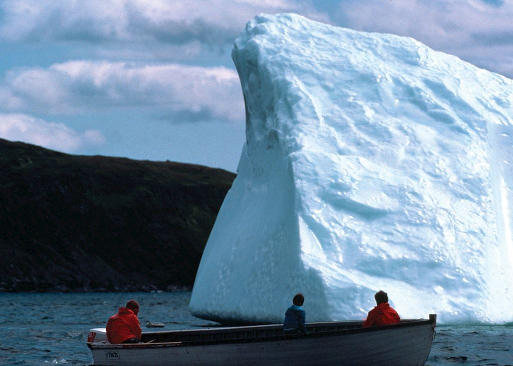 Iceberg off the coast of Newfoundland