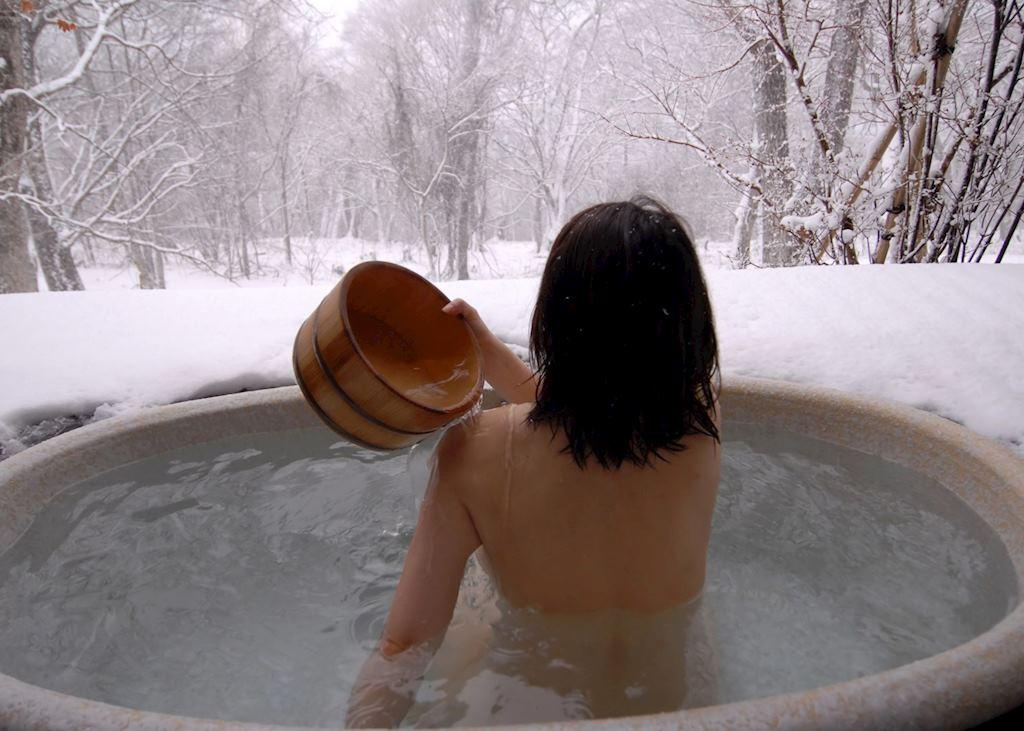 Hot spring or onsen